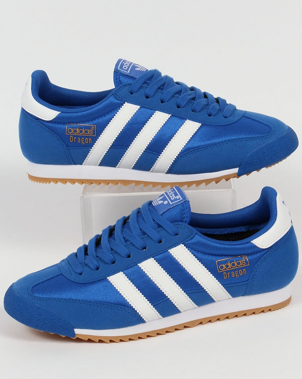 buy popular 39736 7a4f0 Retro Blue Suede ADIDAS Sneaker UK 8 - mainstreetblytheville.org