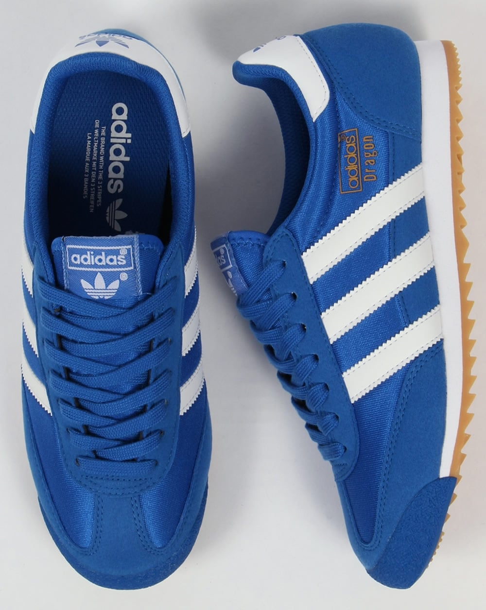 Adidas Dragon Trainers Blue/White,originals,shoes,OG,mens