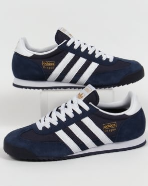 Adidas Trainers Adidas Dragon Trainers Navy