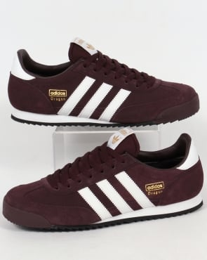 Adidas Trainers Adidas Dragon Trainers Night Red/White