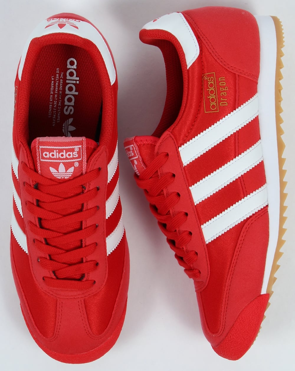 adidas dragons red