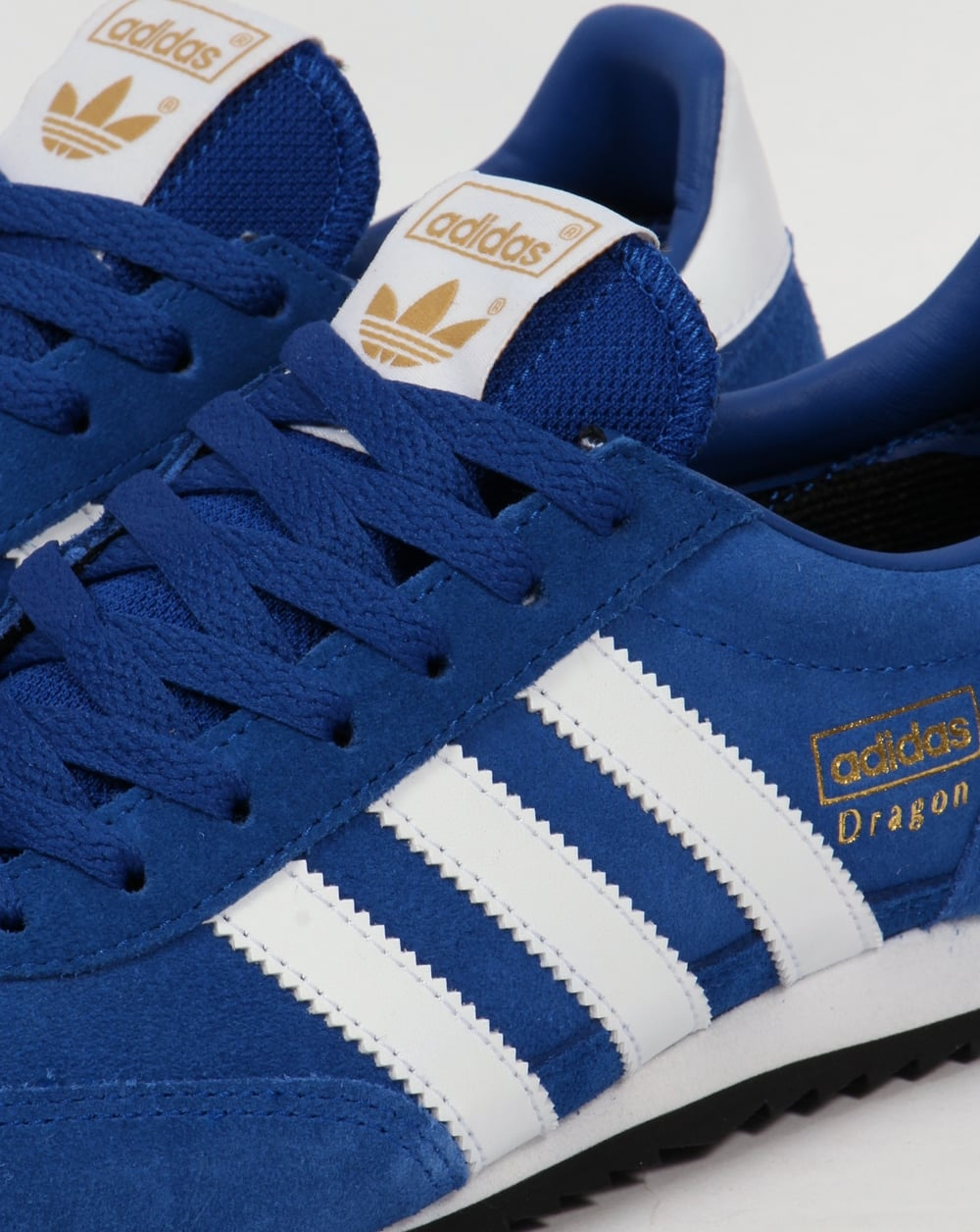blue adidas dragon trainers