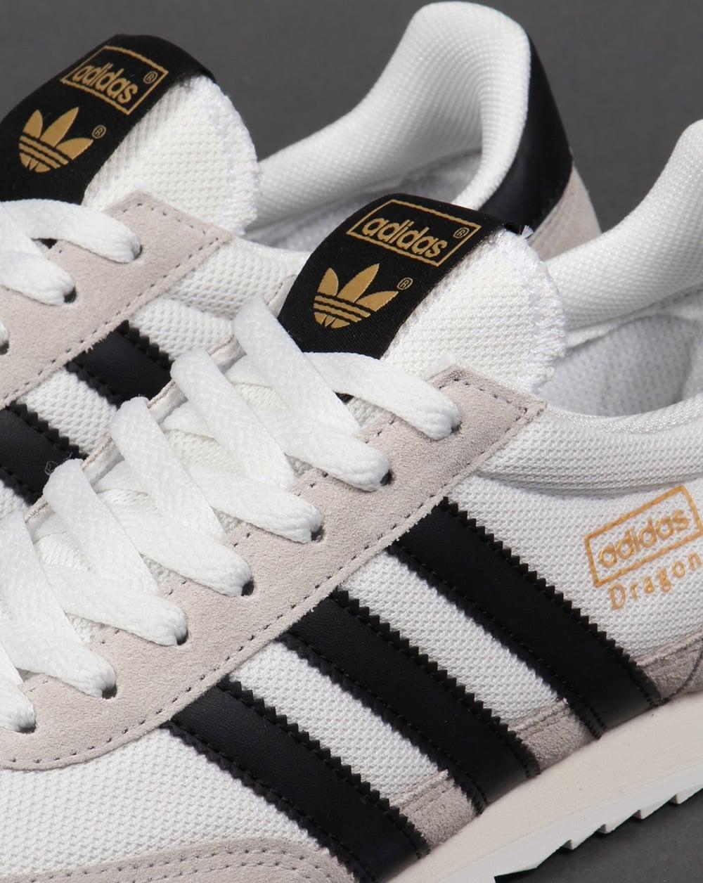Adidas Dragon Trainers White/Black