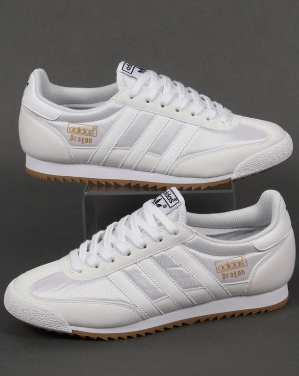 Adidas Trainers Adidas Dragon Trainers White/White
