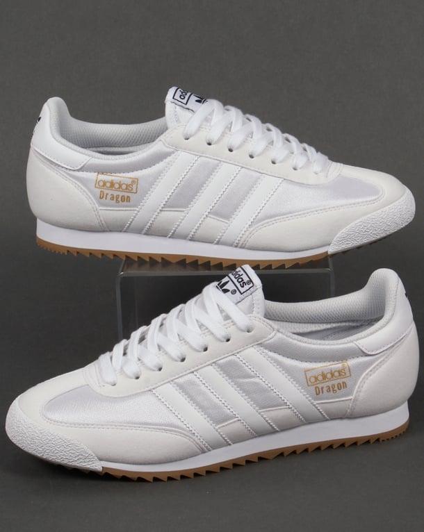 Adidas Dragon Trainers White/White
