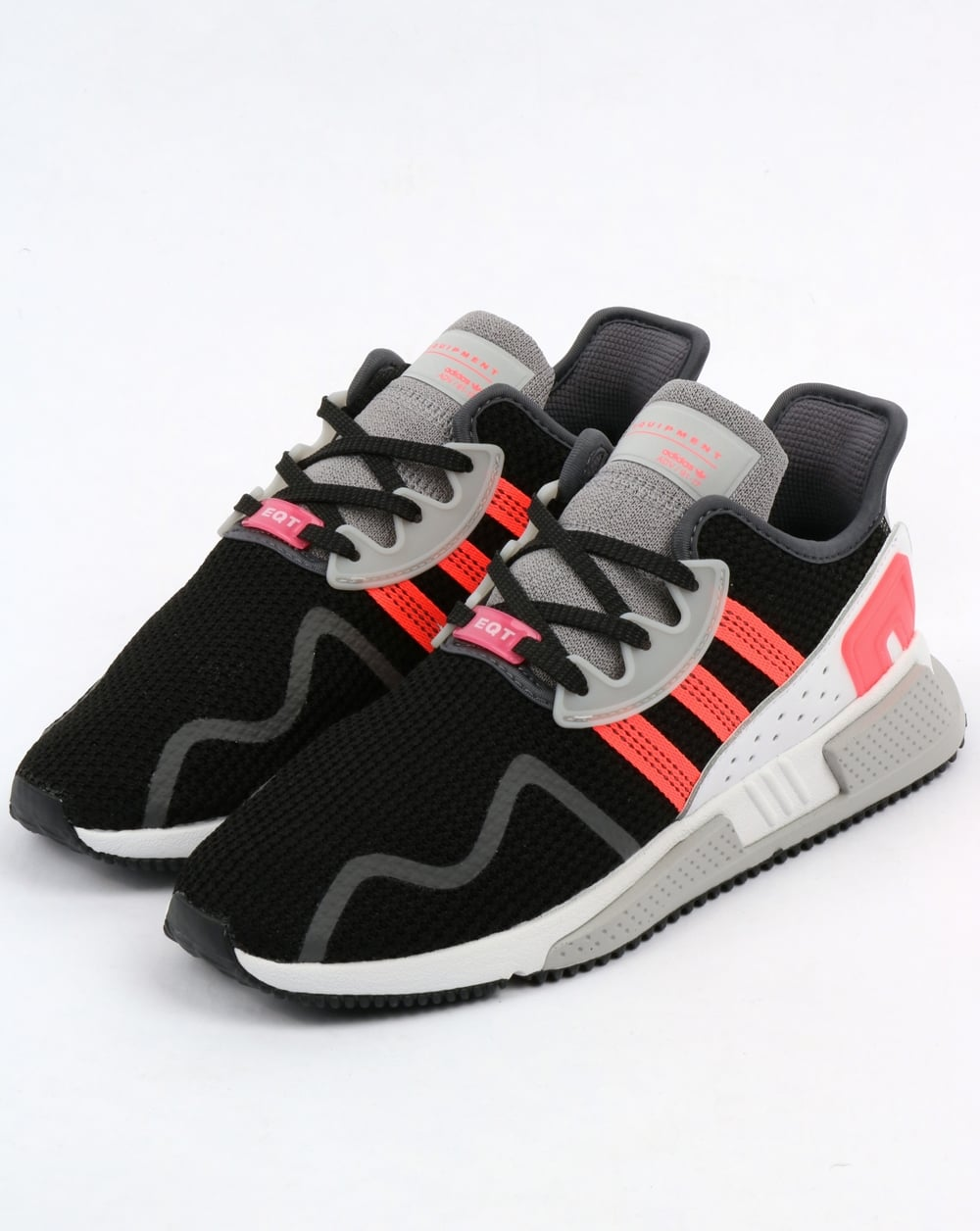 c8e762307e7a78 Adidas Eqt Cushion Adv Trainers Black Pink White