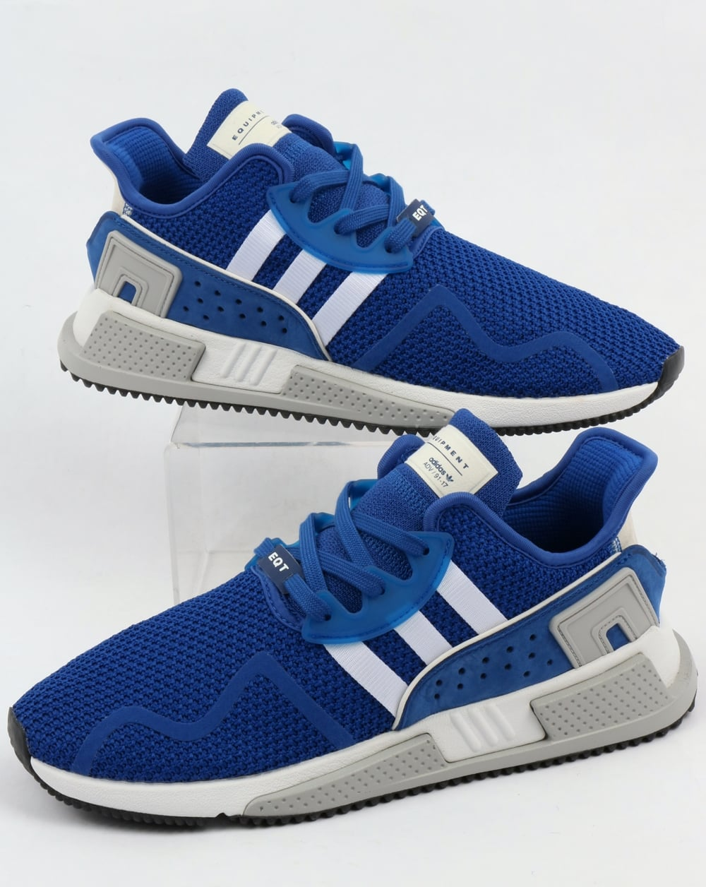 6a4b230819e4 adidas Trainers Adidas EQT Cushion Adv Trainers Royal White
