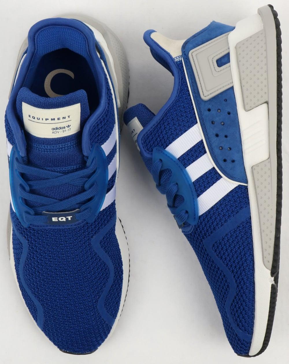 info for f7b1c de036 Adidas EQT Cushion Adv Trainers RoyalWhite