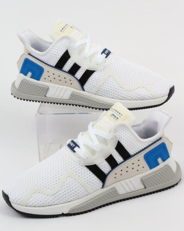 save off e0961 1f51c Adidas EQT Cushion ADV Trainers White/Black/Royal