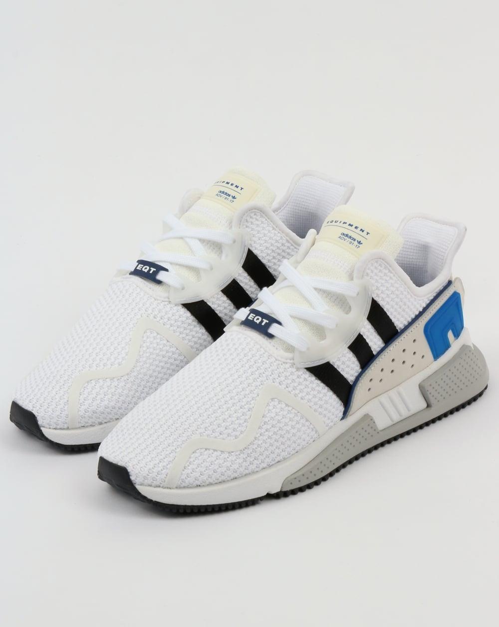 premium selection 894bd 29d4a ... adidas eqt cushion adv trainers white black royal