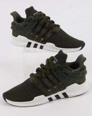 adidas Trainers Adidas Eqt Support Adv Night Cargo/white/black