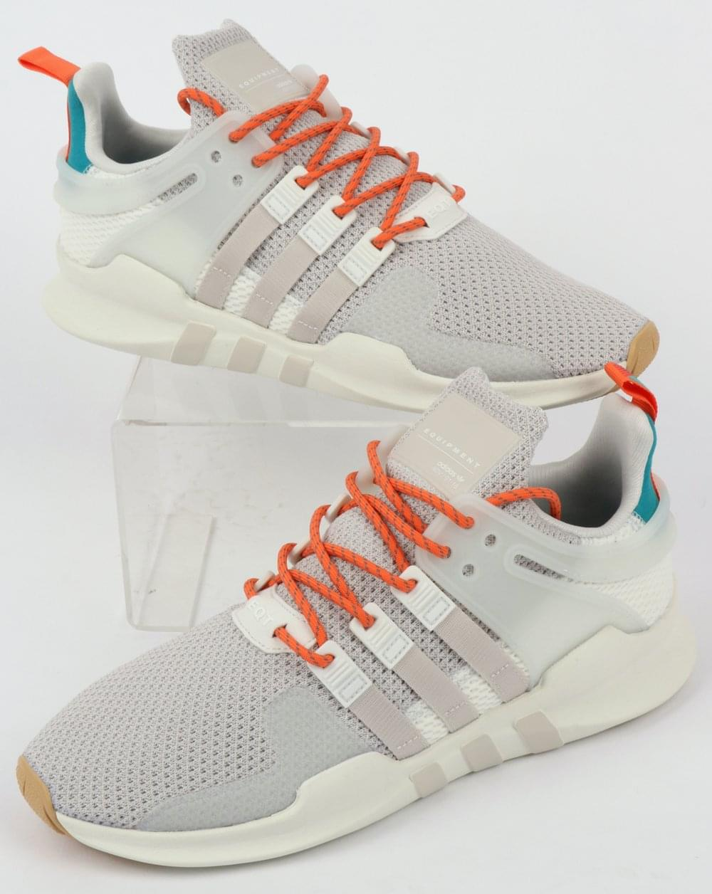 new style 6031d 216fd Adidas EQT Support Adv Summer Trainers White/Chalk