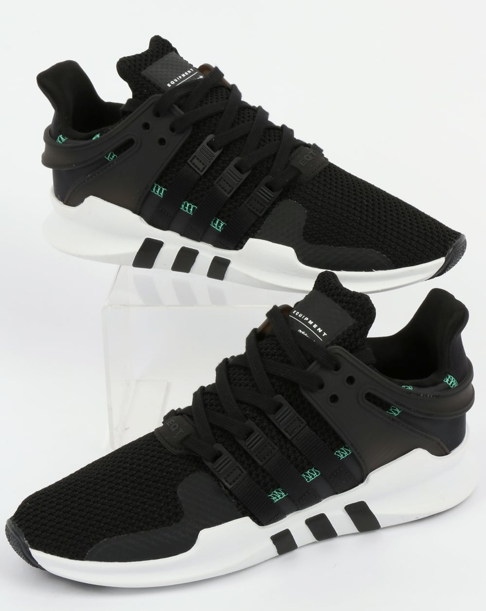 5fa758324489 adidas Trainers Adidas EQT Support ADV Trainers Black Black White