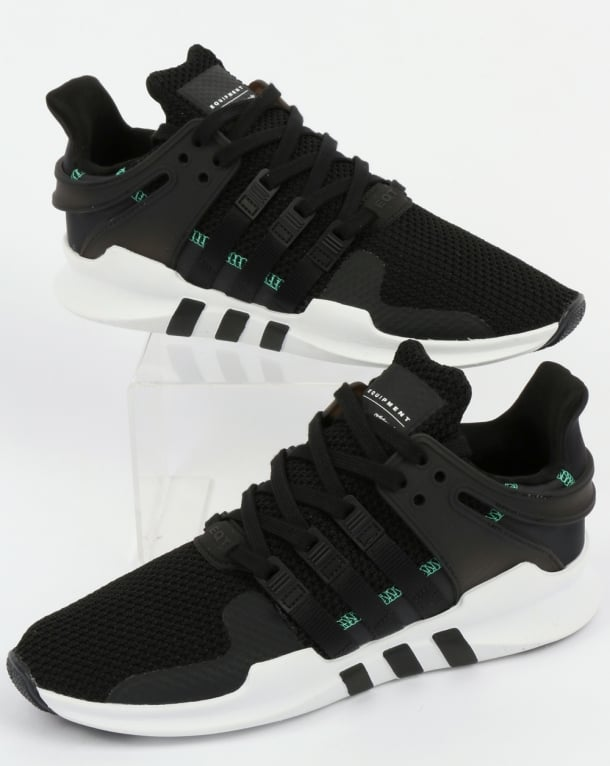 best website 2a2c7 bf306 Adidas EQT Support ADV Trainers Black/Black/White