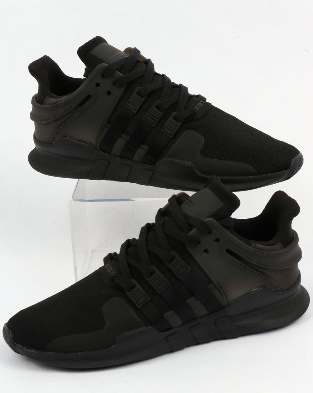 quality design d74fd 852cc Adidas EQT Support ADV Trainers Black