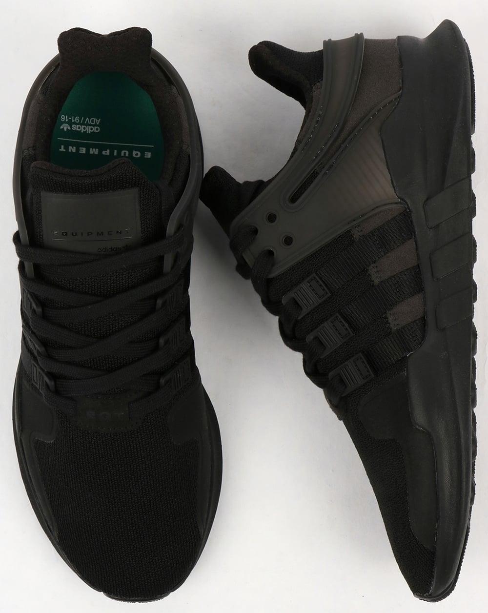 quality design e5e3b d492d Adidas EQT Support ADV Trainers Black