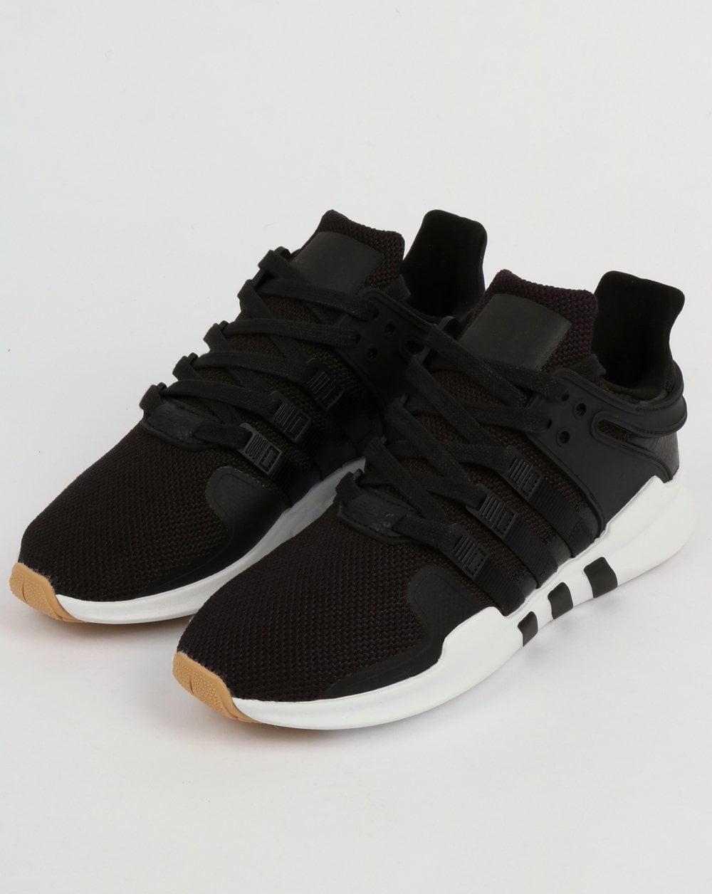 half off 770b7 4bba9 Adidas EQT Support Adv Trainers Black/White/Gum