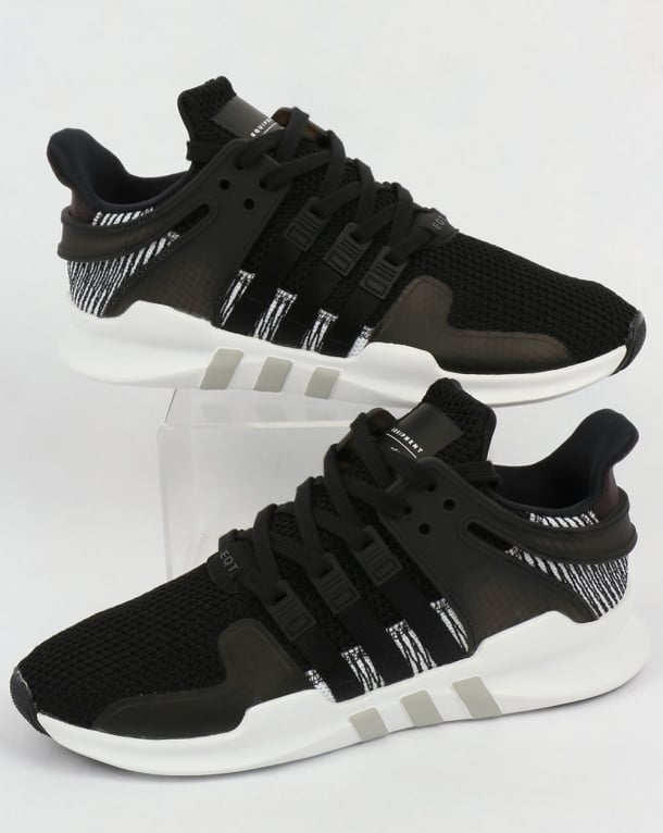186787d28480 ... discount adidas eqt support adv trainers black white 82dde 9c995
