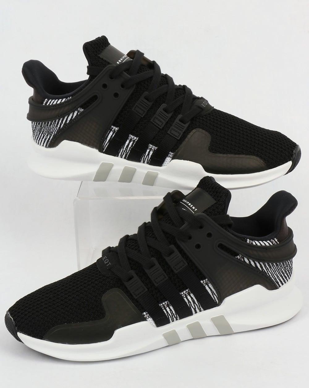 Adidas EQT Support Adv Trainers Black White