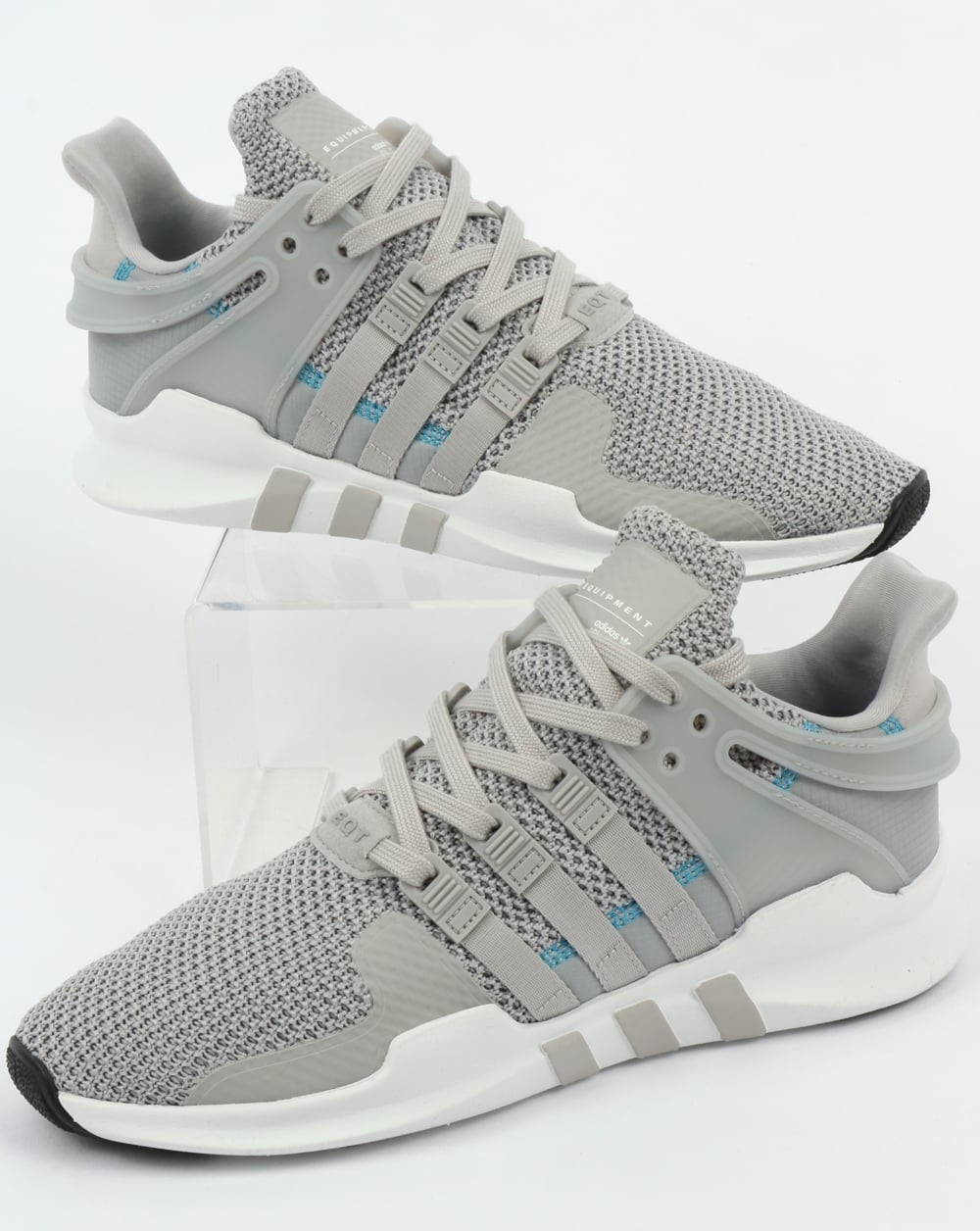 80abf967c47f adidas Trainers Adidas EQT Support ADV Trainers Grey 2 White