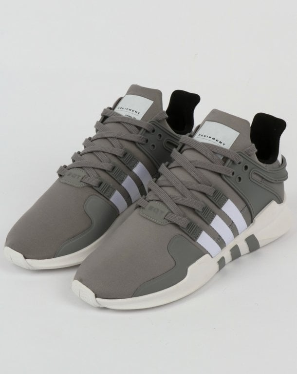 6092fa1e6ff8 adidas Trainers Adidas EQT Support Adv Trainers Grey 3 White