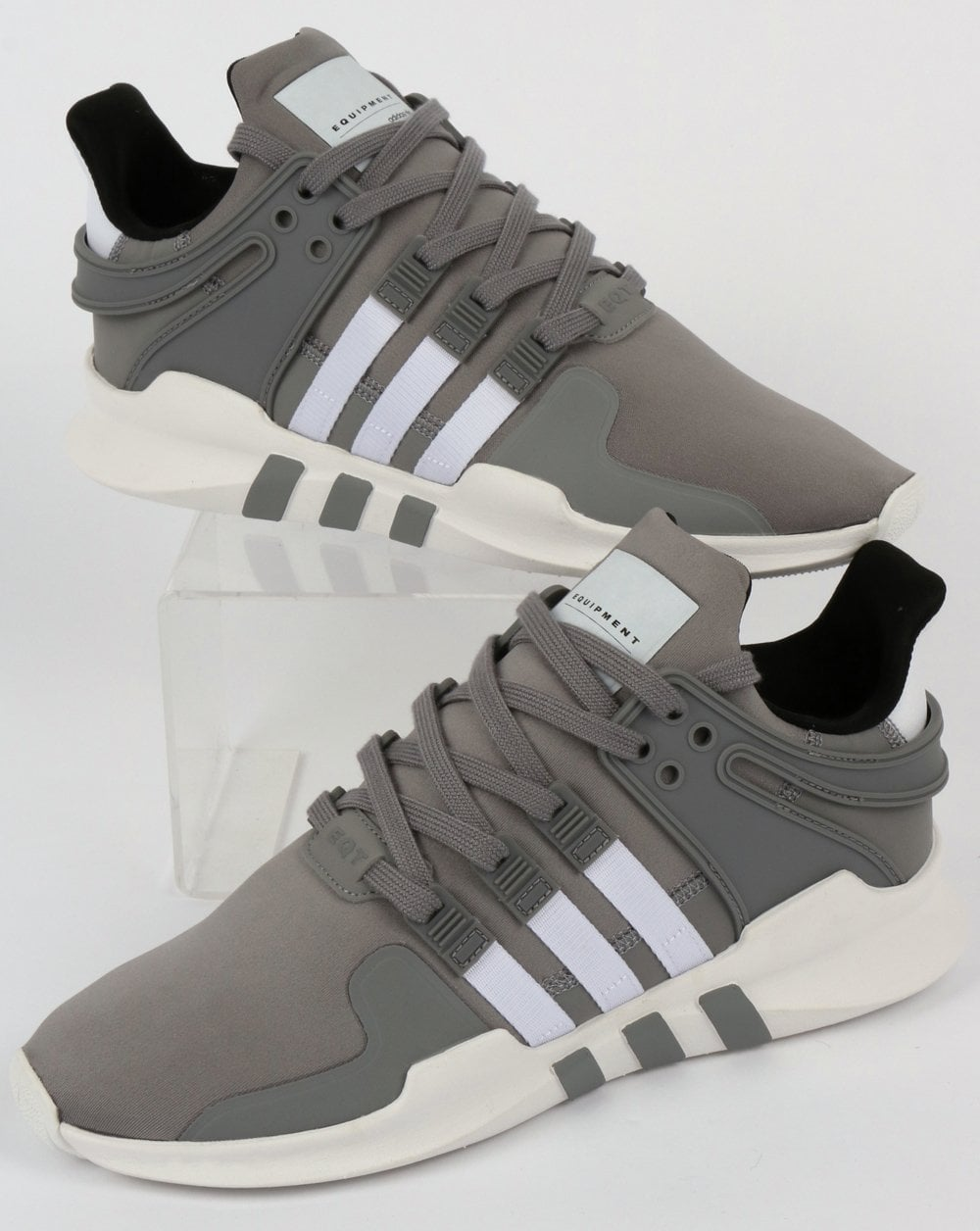 more photos 54ac6 9037b Adidas EQT Support Adv Trainers Grey 3/White