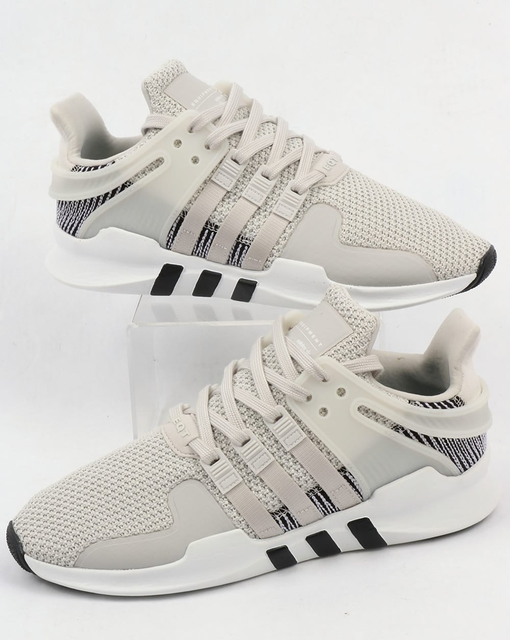 733ca8149f2 adidas Trainers Adidas EQT Support Adv Trainers White White Grey