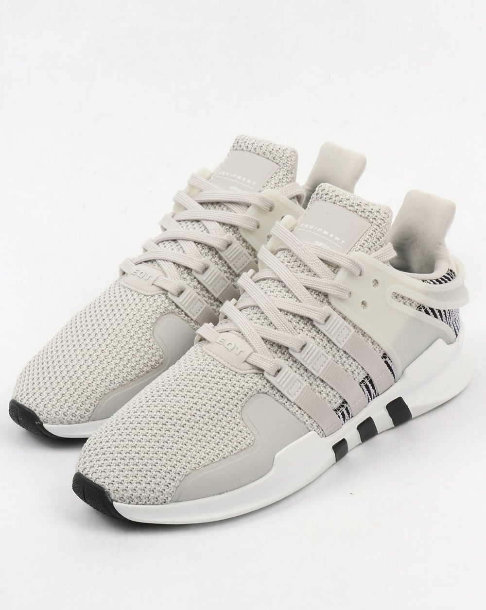 more photos e0379 e378a Adidas EQT Support Adv Trainers White/White/Grey