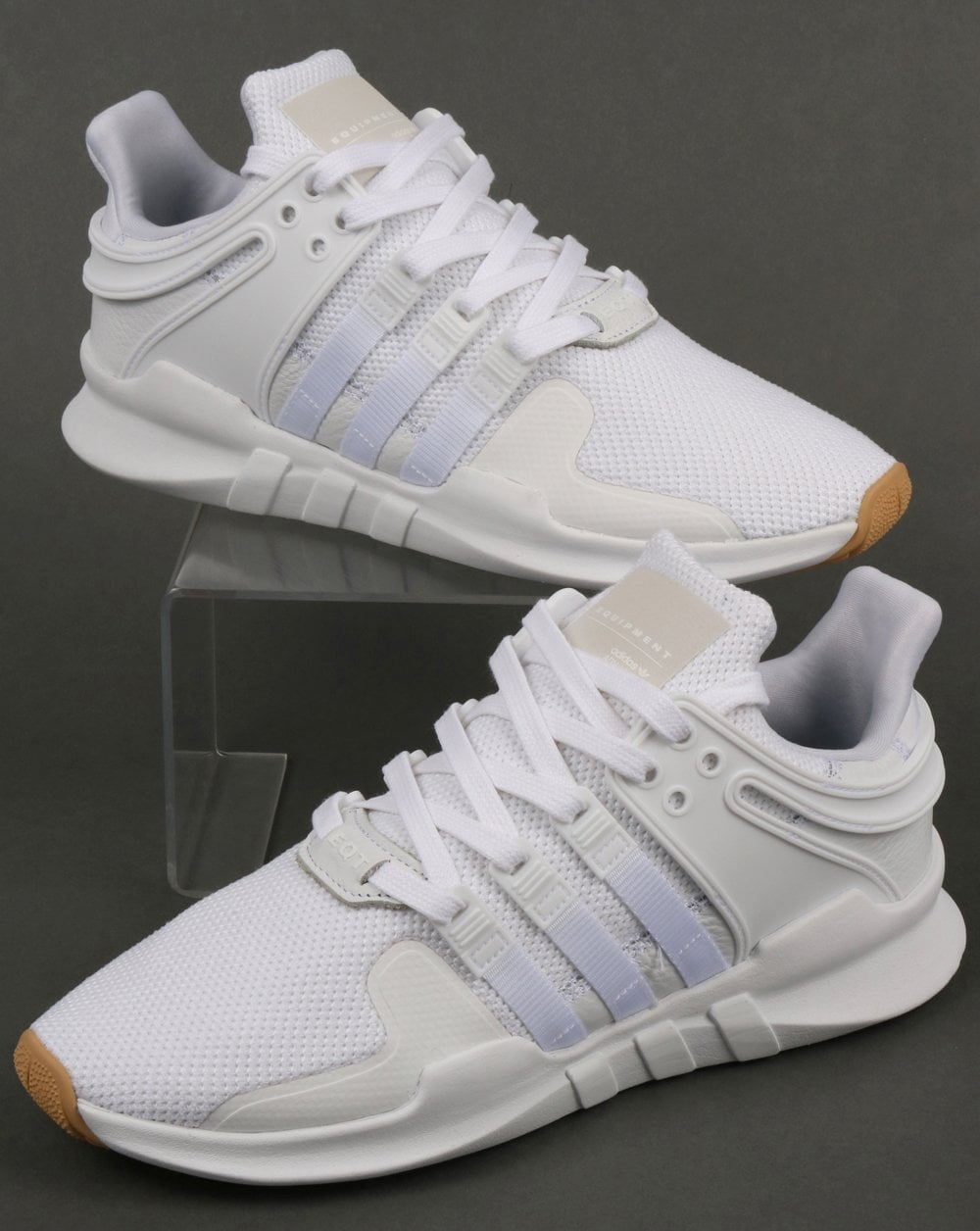 super popular 4c8d5 d5f7b Adidas EQT Support Adv Trainers White/White/Gum