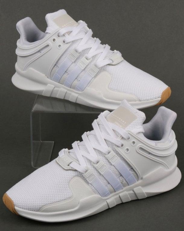 super popular 57f0a 5d169 Adidas EQT Support Adv Trainers White/White/Gum