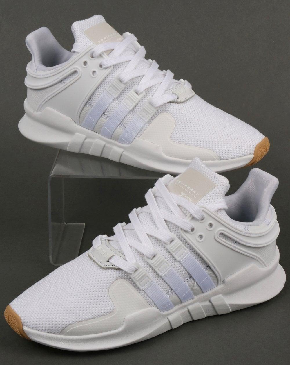 white eqt trainers