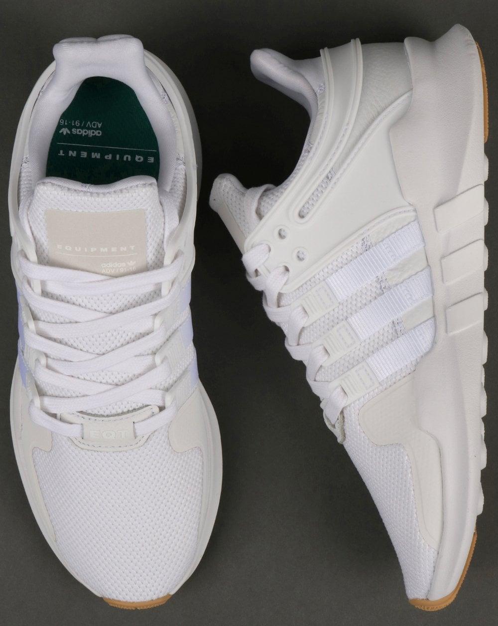Adidas EQT Support Adv Trainers WhiteWhiteGum