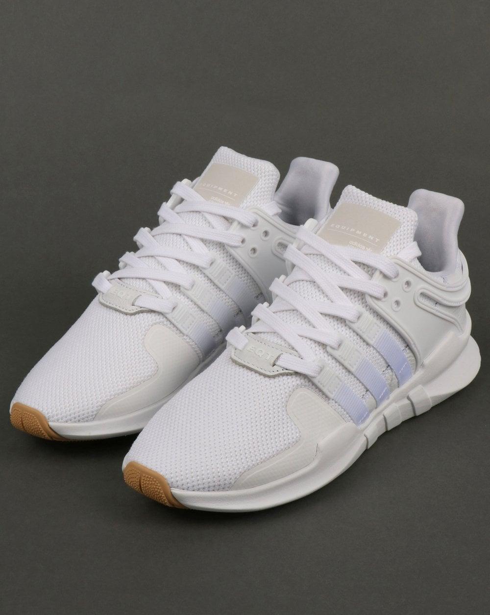 super popular 2c40a ab4ec Adidas EQT Support Adv Trainers White/White/Gum