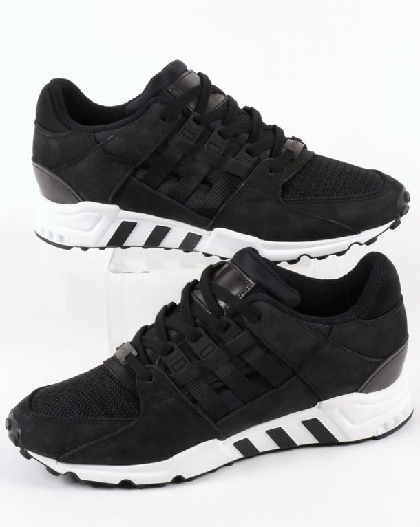 Adidas EQT Support RF Trainers Black/Black