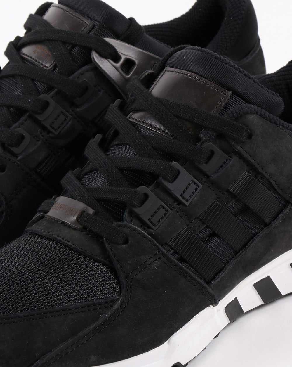 the latest 42eda 5f390 Adidas EQT Support RF Trainers Black/Black