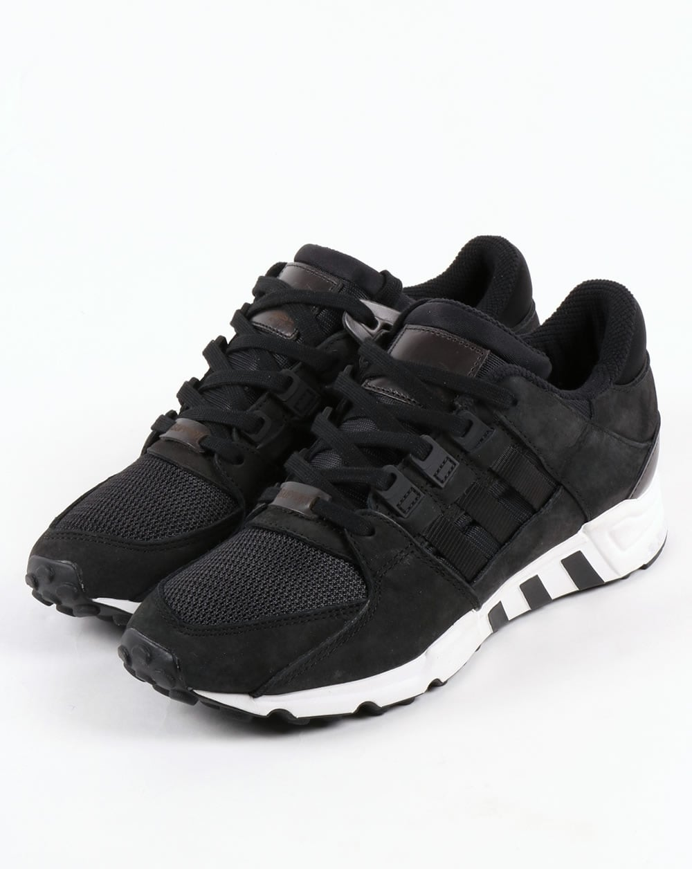 the latest 77dc7 18a6e Adidas EQT Support RF Trainers Black/Black