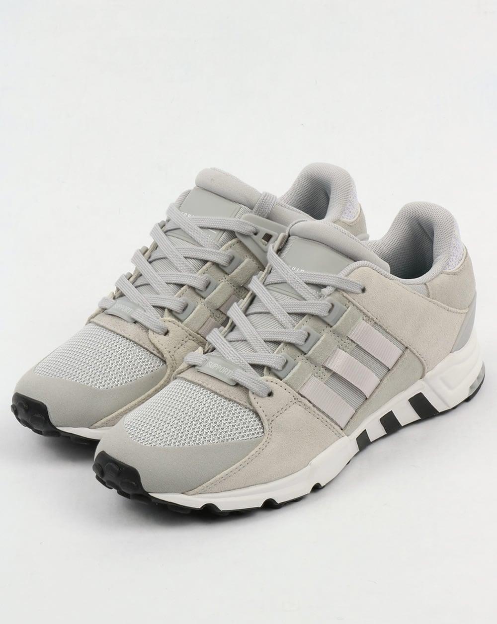 Adidas Eqt Sostegno Bianco, - Formatori Grigio / Bianco, Sostegno Originale, Correndo, Scarpe c61833