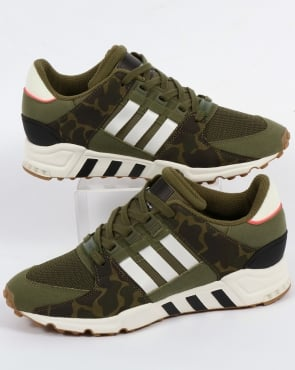 adidas Trainers Adidas EQT Support RF Trainers Olive Cargo/White