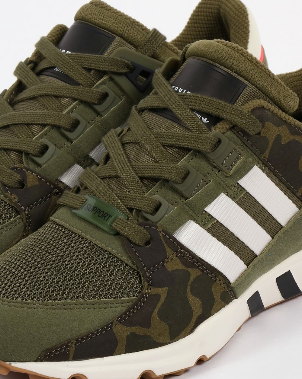 56262bb6aa9c Adidas EQT Support RF Trainers Olive Cargo White