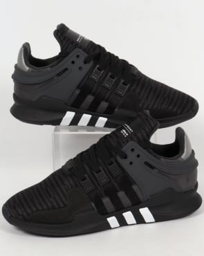 Adidas Trainers Adidas Equipment Support Trainers Black/Black