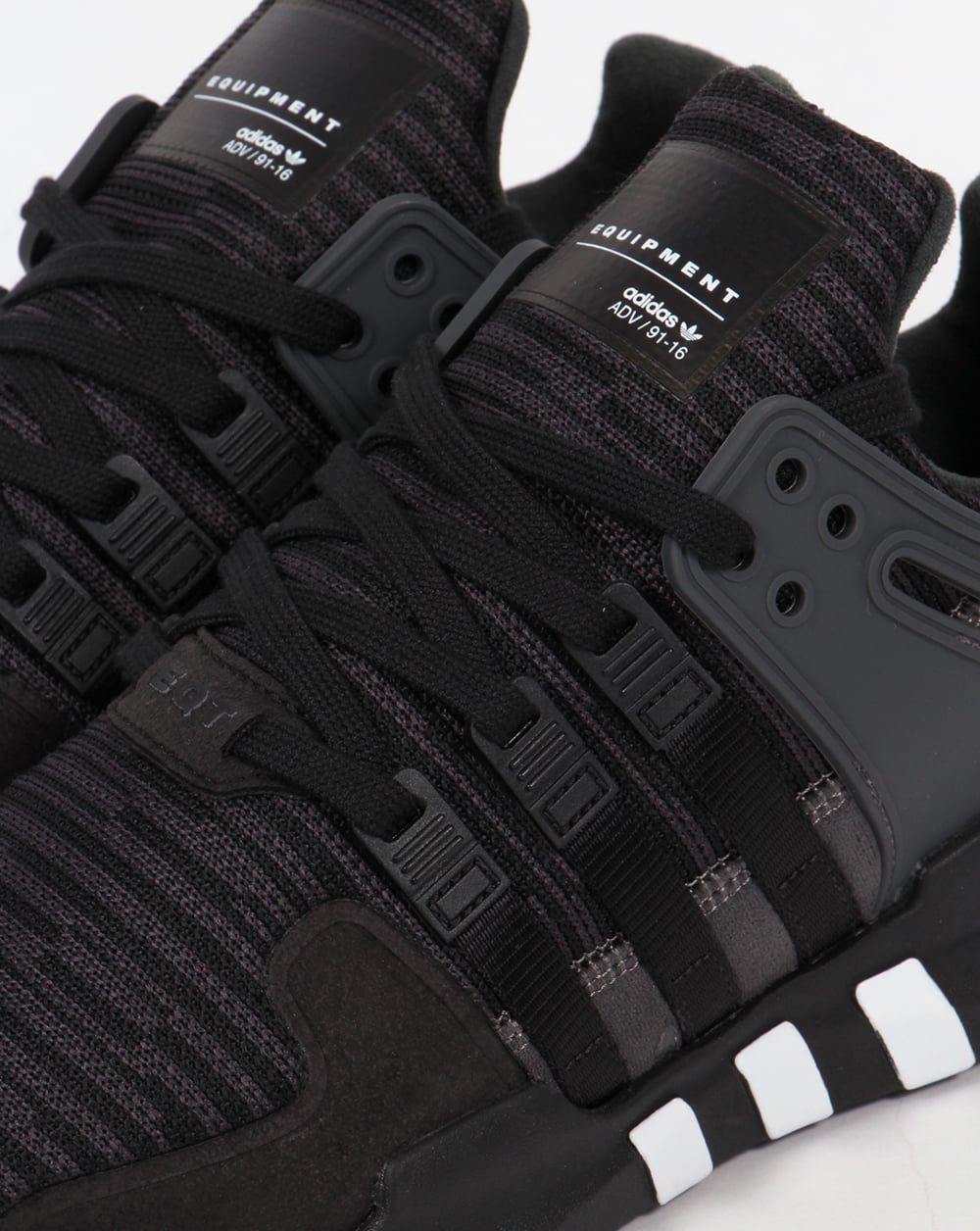 Adidas Equipment Support A Trainers Black  Black Running Shoes