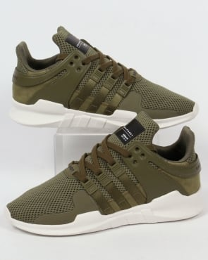Adidas Trainers Adidas Equipment Support Trainers Olive Cargo