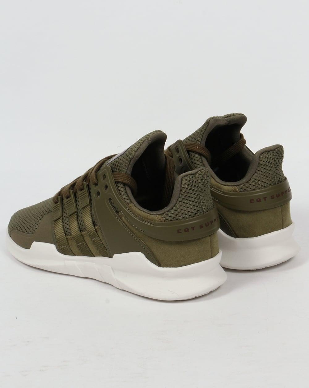 adidas khaki trainers. adidas equipment support trainers olive cargo khaki