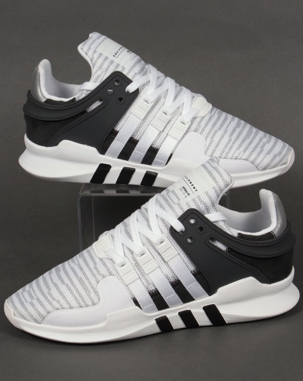 Adidas Trainers Adidas Equipment Support Trainers White/Black