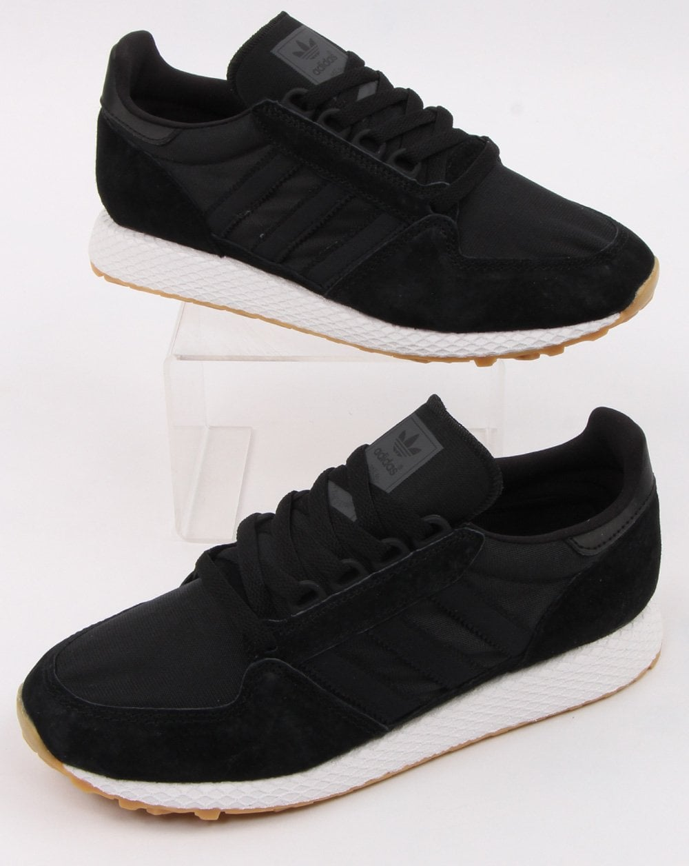 45d90d242101 adidas Trainers Adidas Forest Grove Trainers Black black