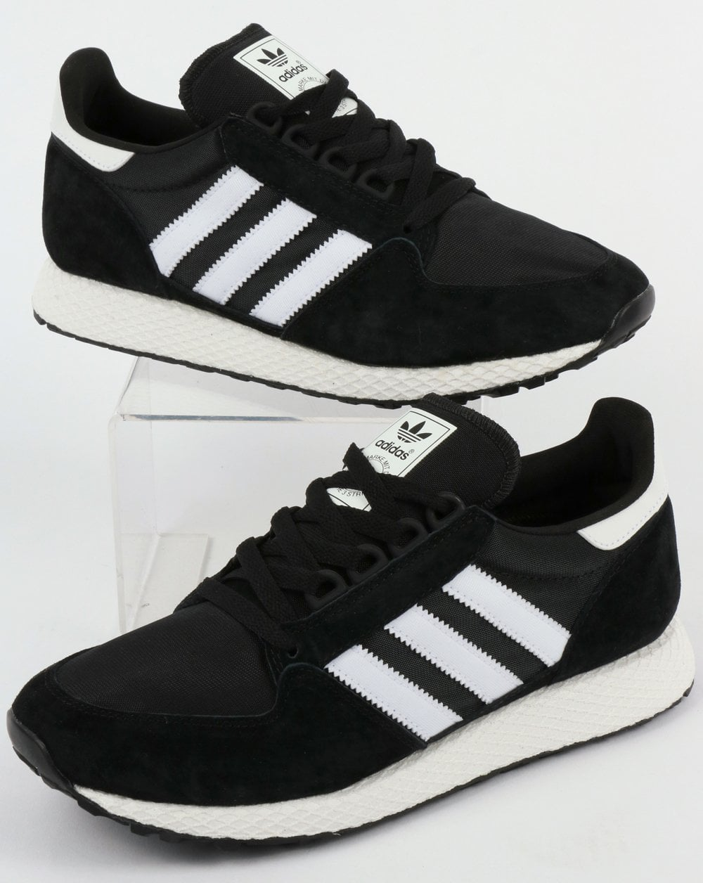 Adidas Forest Grove Trainers Black White 5b8f0a703