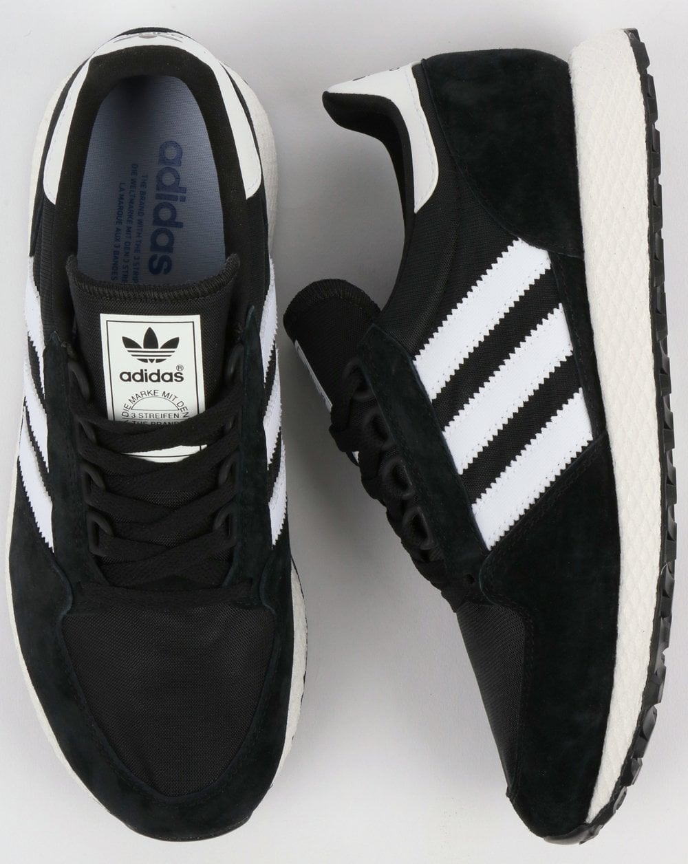 premium selection 63e1a 90d4f adidas Trainers Adidas Forest Grove Trainers BlackWhite