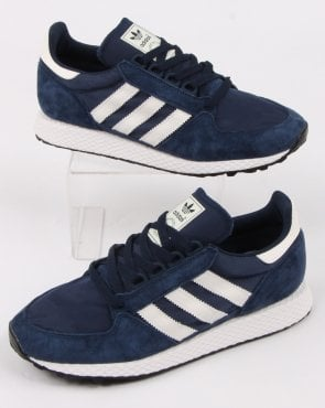 adidas Trainers Adidas Forest Grove Trainers Navy/cloud White