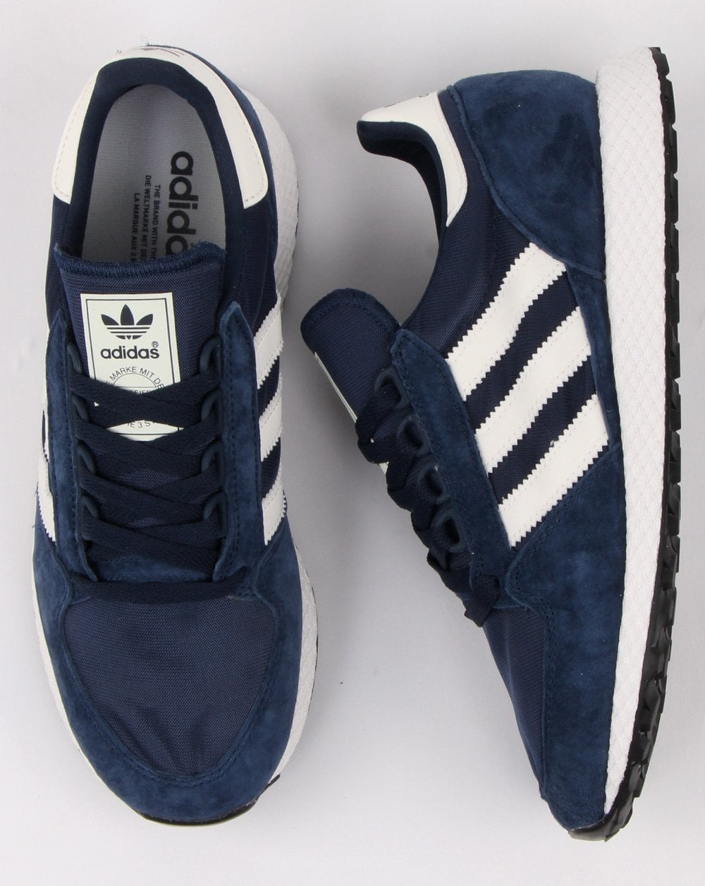Adidas, Forest Grove, Trainers, Navy