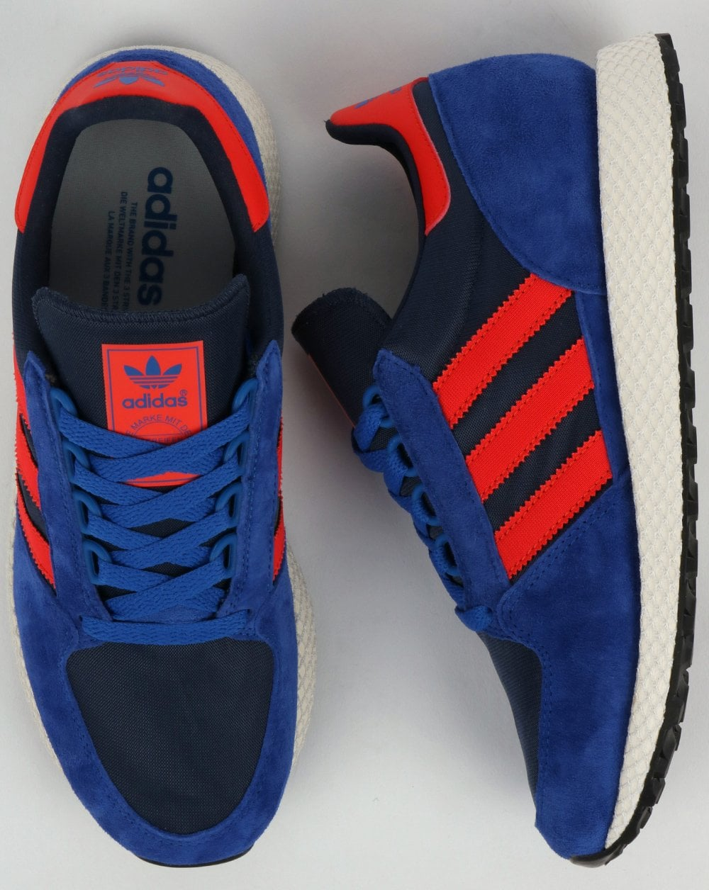 Adidas Forest Grove Trainers Power BlueRed